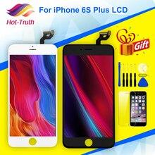 Pantalla LCD de grado AAA y montaje de digitalizador para iPhone 6S Plus, A1634, A1687, A1699, 5,5, cristal templado gratis, herramienta, 1 ud.