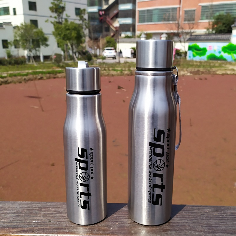 Stainless Steel Shaker Protein Powder Water Bottle New Sports Drink Shake Cup Kettle Keep Cold Hidro Flask My Drink Drinkware image