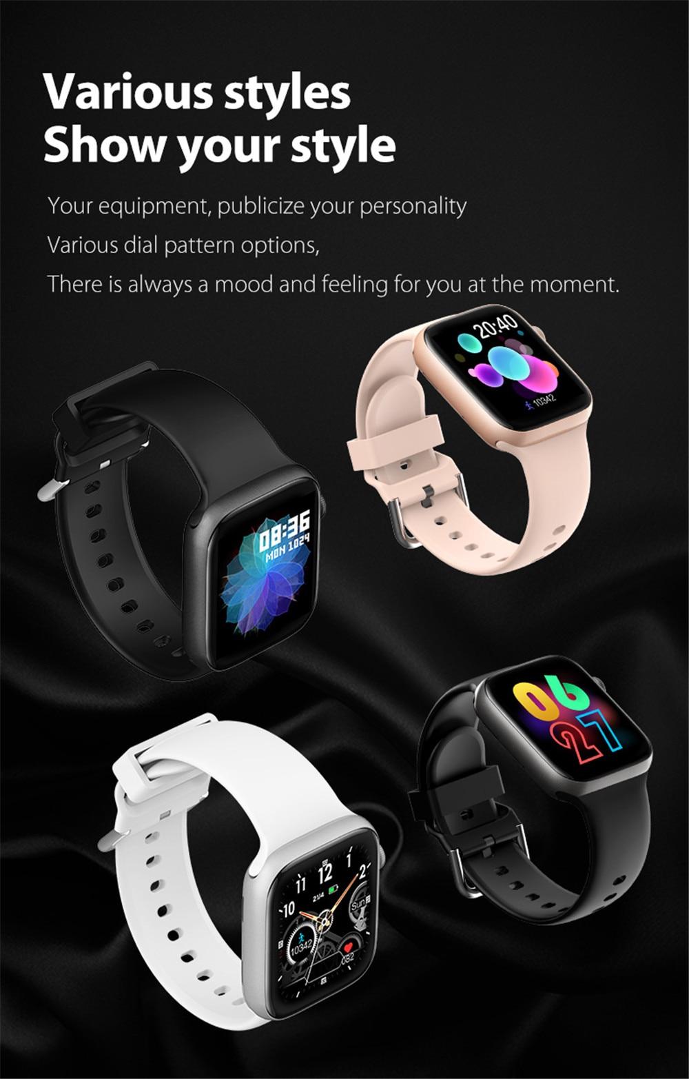 Hc76cc5bc1af54c258f987506fbf60031j Smart Watch Men Smartwatch Women Dial Call Watch Waterproof Fitness Tracker Music Control 2021 For Iphone Xiaomi Huawei IWO+gift