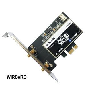 Image 3 - Dual Band 2400Mbps Drahtlose Wi Fi Netzwerk Karte Adapter Mit Wi Fi 6 Intel AX200 NGW Mit 802,11 ac/ax BT 5,0 Für Desktop