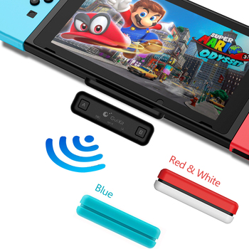 Nitend Switch Bluetooth Audio Transmitter Adapter Low Latency Route Air for Nintendo Switch Lite PC PS4 USB Wireless Transmitter gulikit ns07 usb c route air bluetooth wireless audio adapter or type c transmitter for the nintendo switch switch lite ps4 pc