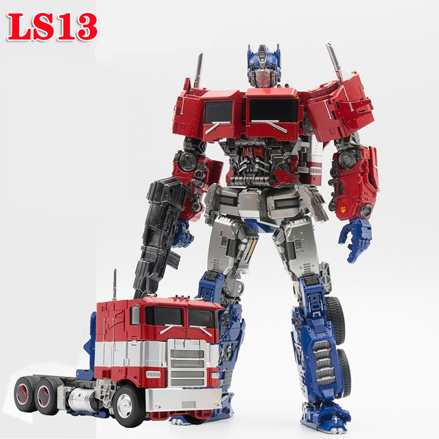 SS38 OP Commander Transformation AOYI LS 13 LS13  with Light  Movie Model Alloy Deformation Action Figure Robot Toys Kids Gifts