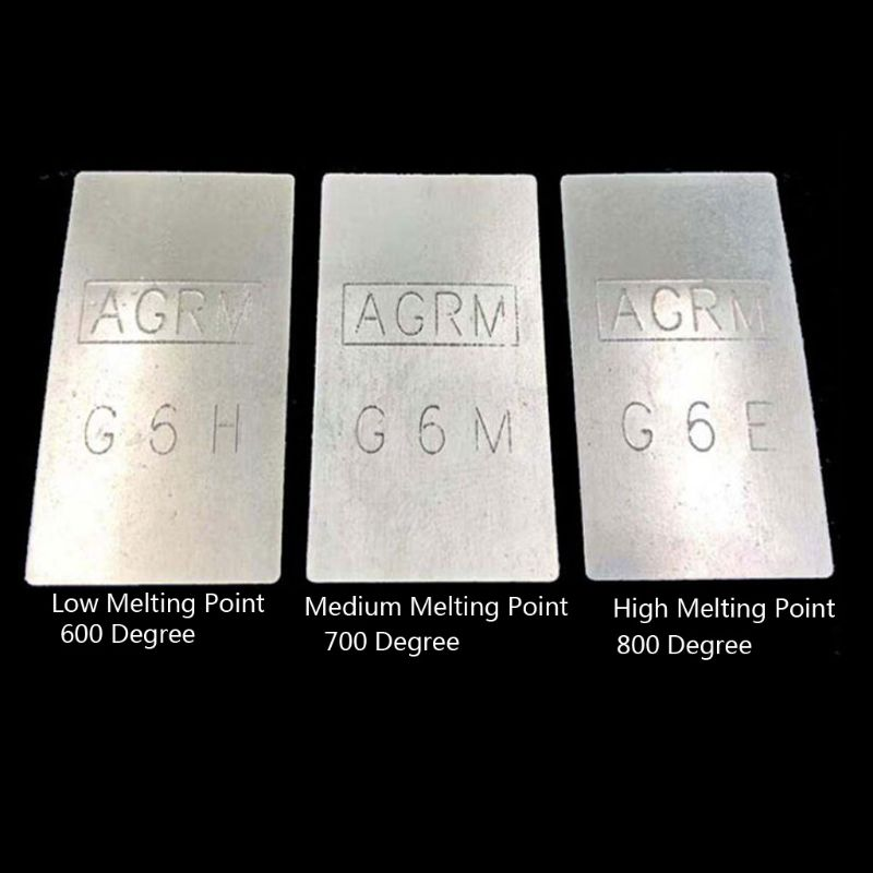 Silver Soldering Sheet Plate Jewelry Welding Plate Tool Metal Forming Stamping