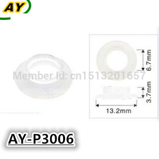 500pieces/set  auto spare parts  pintle cap fuel injector repair kit plastic washer gasket for Nissan and Subaru  (AY-P3006) title=