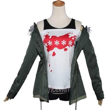 Persona 5 Costume women Navi Futaba Sakura Shirt Cosplay costume lolita punk halloween outfit
