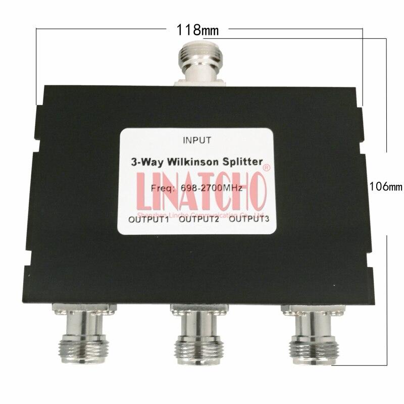 698-2700mhz 2600MHz 1900mhz GSM 3G 4G WIFI LTE Signal Booster Antennas 3 Ways Wilkinson Splitter