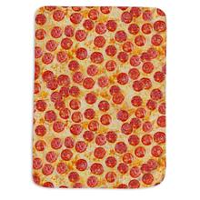 Pepperoni Pizza Throw Blanket for Sofa and bed