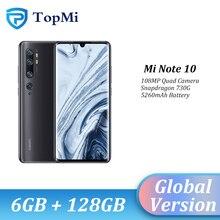 Global Version Xiaomi Mi Note 10 6GB RAM 128GB ROM 108MP Pen