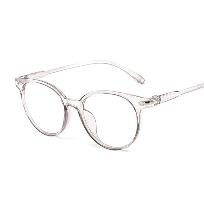 Vintage Cat Eye Clear Glasses Women Transparent Lens Glasses Frame Ladies Optical Eyeglasses Frame Men Unisex