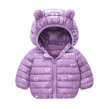 Coat Jacket Winter Outerwear Snowsuit Baby-Boys-Girls Warm Toddler Cartoon Hooded Children's