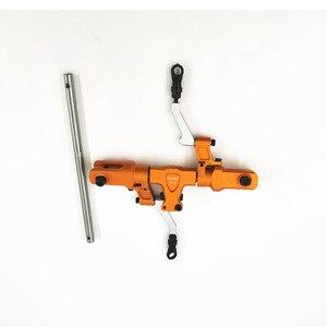 Image 2 - Tarot rc 450 ensemble de tête de Rotor principal, DFC, noir TL48025 01 argent TL48025 02 Orange TL48025 03 pour Tarot 450, tête de rotor de modification