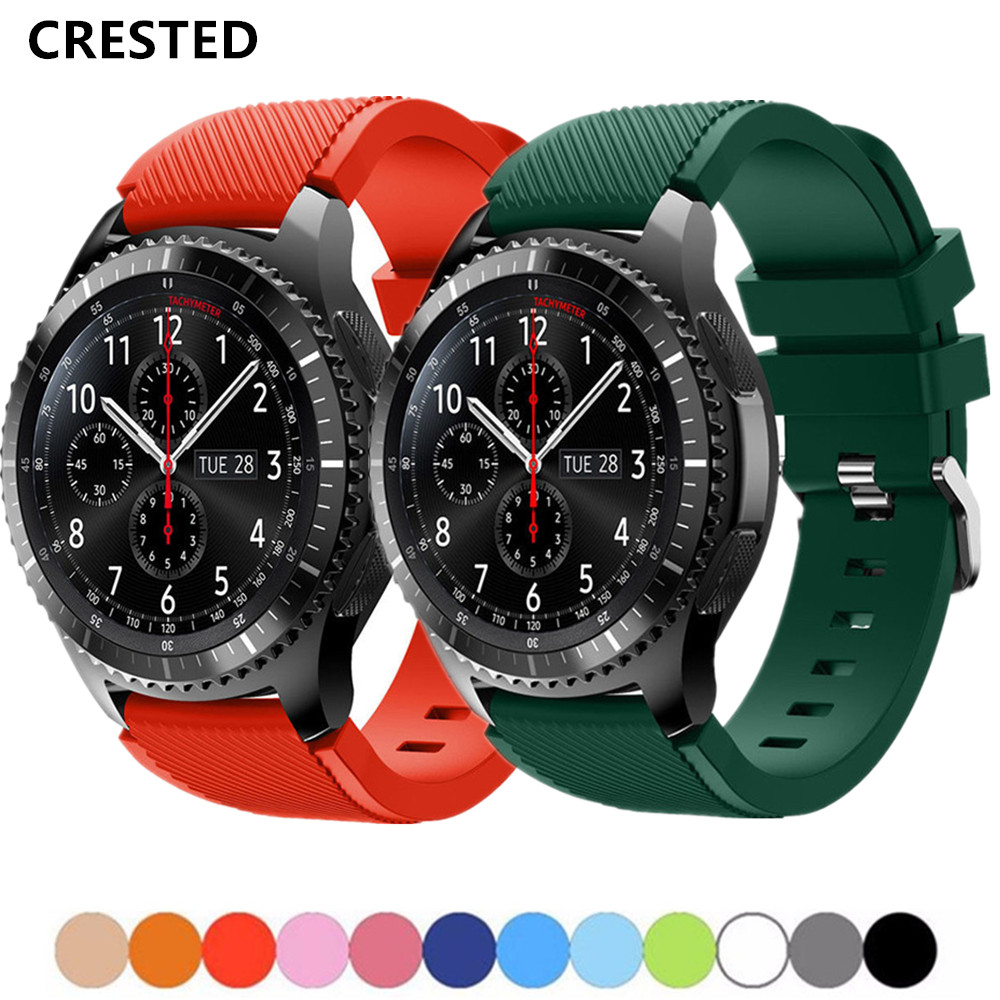 Gear S3 Frontier Strap For Samsung Galaxy Watch 46mm 42mm S4 Active/active 2 20mm 22mm Watch Band Amazfit Bip Gts/gtr ремешок