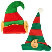 Xmas christmas goods home decorations new Year Christmas decor Elf Hat Child adult Creative cartoon hat