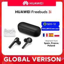 В наличии глобальная версия Huawei FreeBuds 3i 3 я наушники-вкладыши TWS с беспроводного Bluetooth (голубой зуб) наушника Ultimate шумоподавление 3-mic системы г...