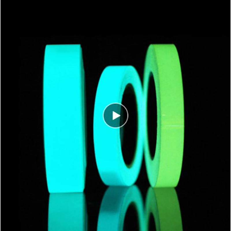 Luminous Fluorescent Night Self-adhesive Glow In The Dark Sticker Tape Safety Security Home Decoration Warning For Stairs Doors