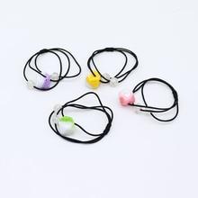 CYHGM girls elastic hair bands plaid scrunchies bandeau cheveux accesorios diademas gumki do wlosow dla dzieci G056