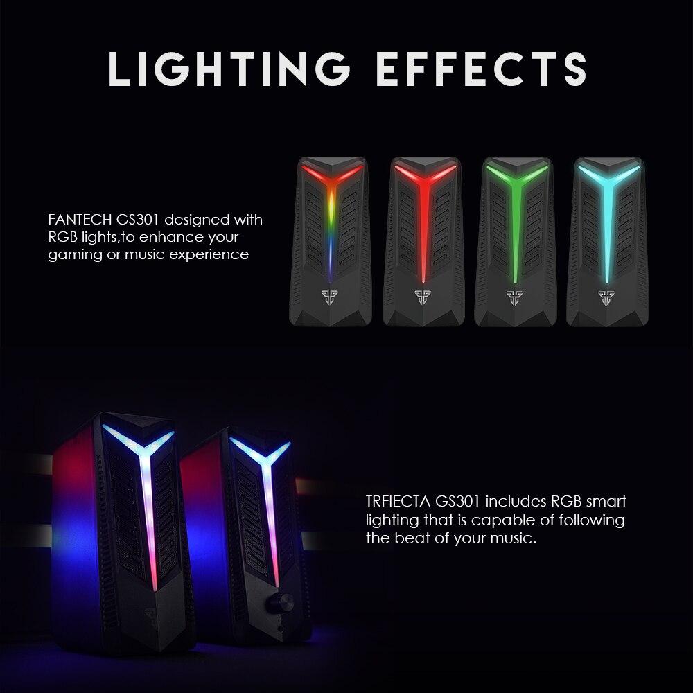 Fantech GS301 Trifecta RGB Gaming Speaker 12