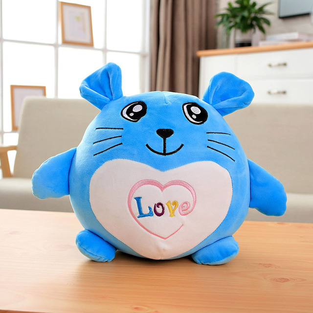 30-45-60cm lovely fat  rat Pillow Stuffed Animal Plush Toys for Girls Children Boys Toys cute mouse Doll Birthday Gift