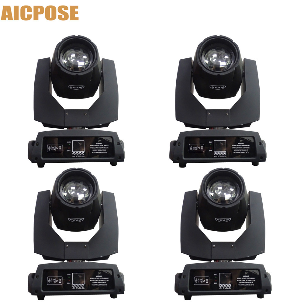 4pcs/lots 230w 7r Beam Light Or Flight Case DMX512 Control Moving Head Lights Professional Stage Party Stage Lighting Effecte