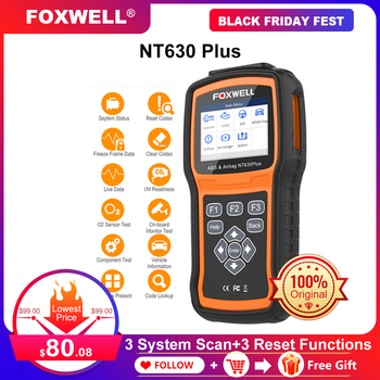 Foxwell NT630 Plus OBD2 Automotive Scanner ABS SRS AirBag Reset Universal ODB2 Car Diagnostic Tool Code Reader OBD 2 Scanner launch cr619 obd2 car diagnostic tool engine abs srs airbag read clear error code auto scanner launch obd 2 scanner free update