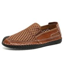 TOSJC New Men Shoes Summer Breathable Mesh Shoes