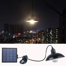 Garden Solar Light Retro Bulb Chandelier Solar Powered Pendant Light With 16Ft Cord Solar Lamp Hanging for Outdoor Cafe