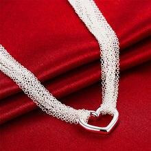 Модное ожерелье из стерлингового серебра 925 пробы с кисточкой