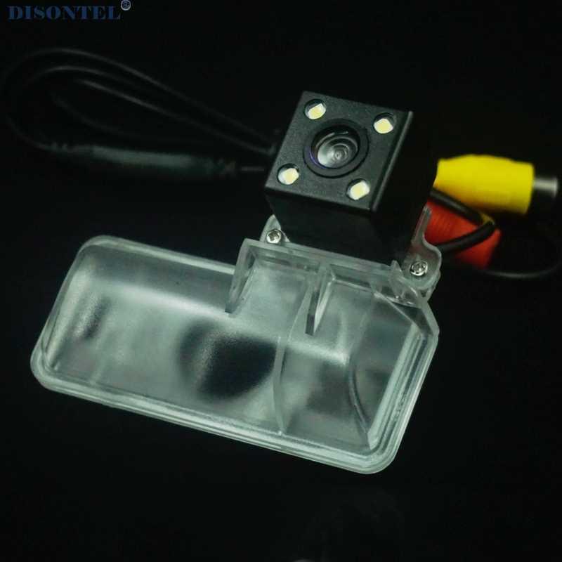 עבור סובארו אימפרזה GH GR hatchback 2007 2008 2009 2010 2011 ראיית לילה גיבוי מצלמה אחורית להתקין על רישיון צלחת אור