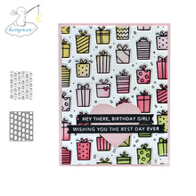 Cutting-Dies Stamp Scrapbooking Background Practice-Hands-On Decor-Card Gifted Metal