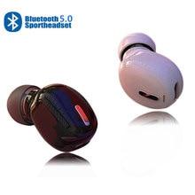 Мини наушники X9 с Bluetooth 5,0, Беспроводные стереонаушники с шумоподавлением, 3D звук, для спорта, походов, гарнитура для всех смартфонов