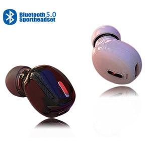 Image 1 - X9 bluetooth 5.0 fone de ouvido mini sem fio fones estéreo redução de ruído in ear 3d som esporte caminhadas fone de ouvido para todos os smarthones