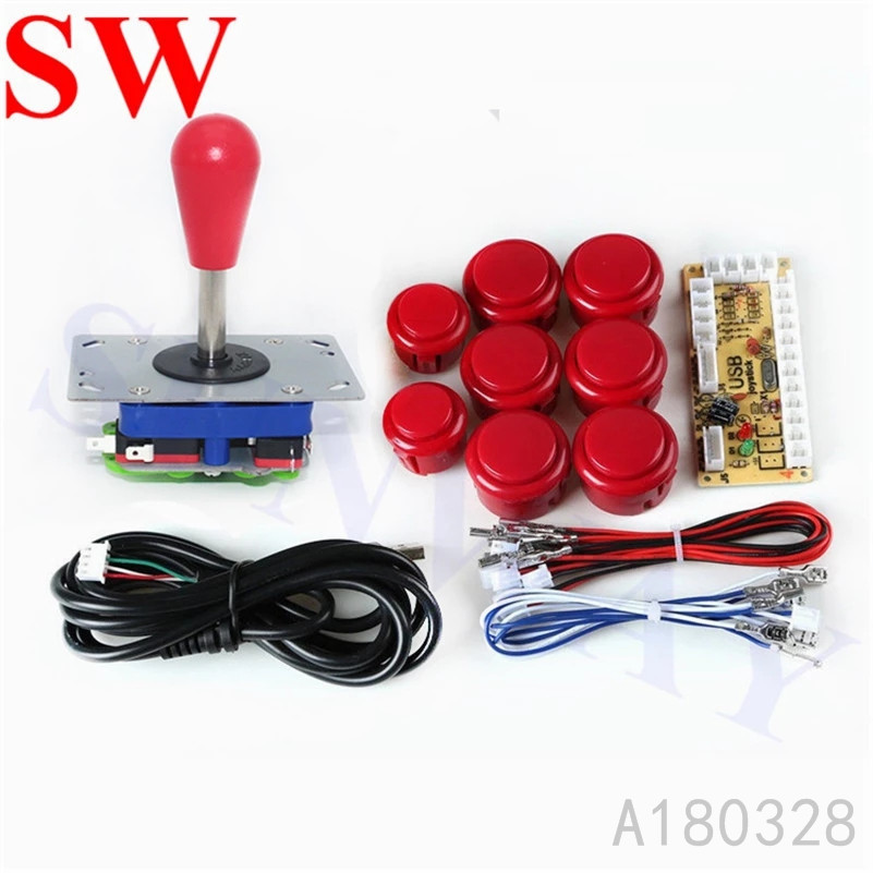 Arcade USB Joystick Encoder MAME Game DIY Kits ZIPPYY oval ball top Computer Games diy parts For Jamma Game Fighting Machine