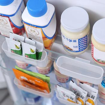 Do przechowywania pudełko do przechowywania posiadacze Organizer do kuchni regulowany kuchenny pojemnik do lodówki stojak lodówka z zamrażarką uchwyt półki organizator tanie i dobre opinie Liplasting CN (pochodzenie) SILICONE Ekologiczne 300g 3-4 sztuki Ferrero Nowoczesne Błyszczący Rectangle Spice 9 5x4x2 8cm