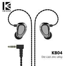 AK KBEAR KB04 1BA+1DD Hybrid Drivers In Ear Earphone HIFI DJ Monitor Earphone Earbuds