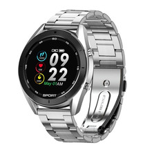 DT99บลูทูธสมาร์ทนาฬิกาผู้ชายECGการตรวจจับIP68กันน้ำหลายDials Fitness Trackerอายุการใช้งานแบตเตอรี่