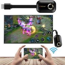 2,4G oder 5G HDMI Wireless WiFi Display Video Adapter HDTV Stick Cast Link Mirroring Für iPhone iOS Android telefon zu TV Projektor
