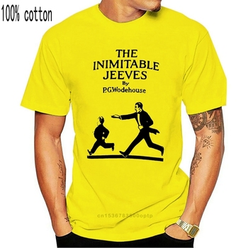 The Inimitable Jeeves book cover T shirt p g wodehouse jeeves bertie wooster book cover jeeves and wooster image