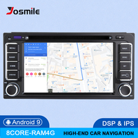 DSP 4G 2 din Android 9 Car Radio Multimedia For Toyota Land Cruiser 100 200 Prado 120 150 Rush Corolla Hiace Yaris HiluxGPS navi