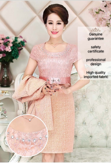 Lace Mother of the Bride Dress 6