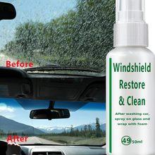 50ml Automotive Glas Beschichtung Mittel Regendicht Mittel Glas Regen Mark Öl Film Entferner Auto Glas Multifunktions Reiniger Werkzeuge