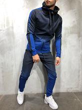 Tracksuit Men Sweat Suits Men Clothes GYM Men Sets Men Outfit Set Gradient Hip Hop Mens Joggers Sport Wear Jump Suit Street