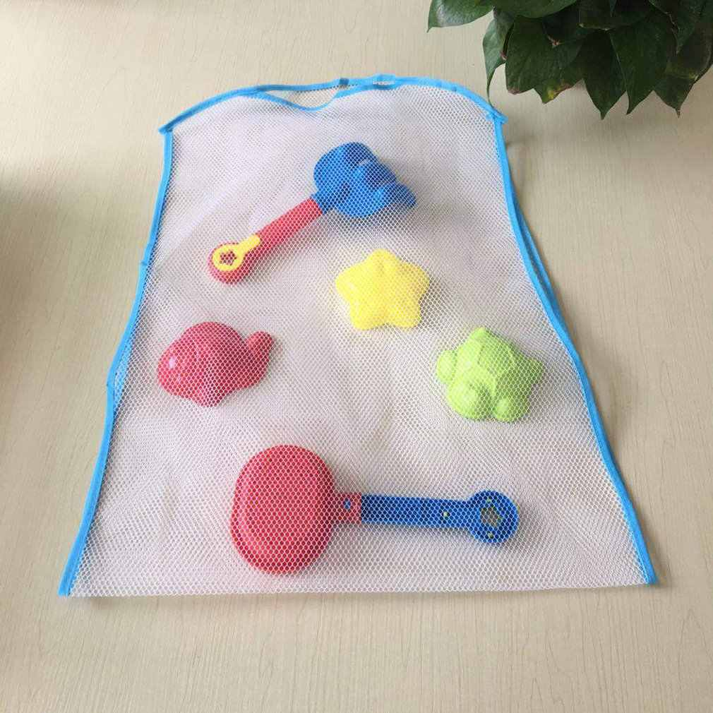 Bolsa de almacenamiento de juguetes para niños bolsa de almacenamiento de juguetes de baño bolsa de almacenamiento para la ducha del bebé bolsas de malla para niños Dropshipping