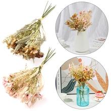 1 шт. искусственные цветы, реалистичные растения, имитация травы, дикие сорняки, цветочный вариант, домашний декор, свадебное украшение, това...