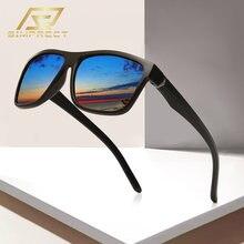 Simprect 2020 tr90 квадратные поляризационные очки солнцезащитные