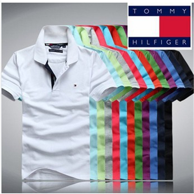 brand High quality men polo T shirt  1