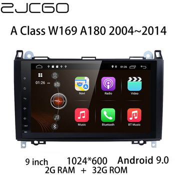Car Multimedia Player Stereo GPS DVD Radio Navigation NAVI Android Screen Monitor for Benz A Class W169 A180 2004~2014