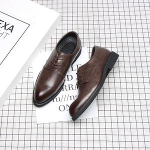 Image 4 - 37 44 Mensอย่างเป็นทางการรองเท้าธุรกิจสบายสไตล์สุภาพบุรุษรองเท้าผู้ชาย #2033