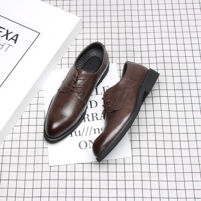 Image 4 - 37 44 mens formal shoes business comfortable Stylish Gentleman's formal shoes men #2033-in Formal Shoes from Shoes