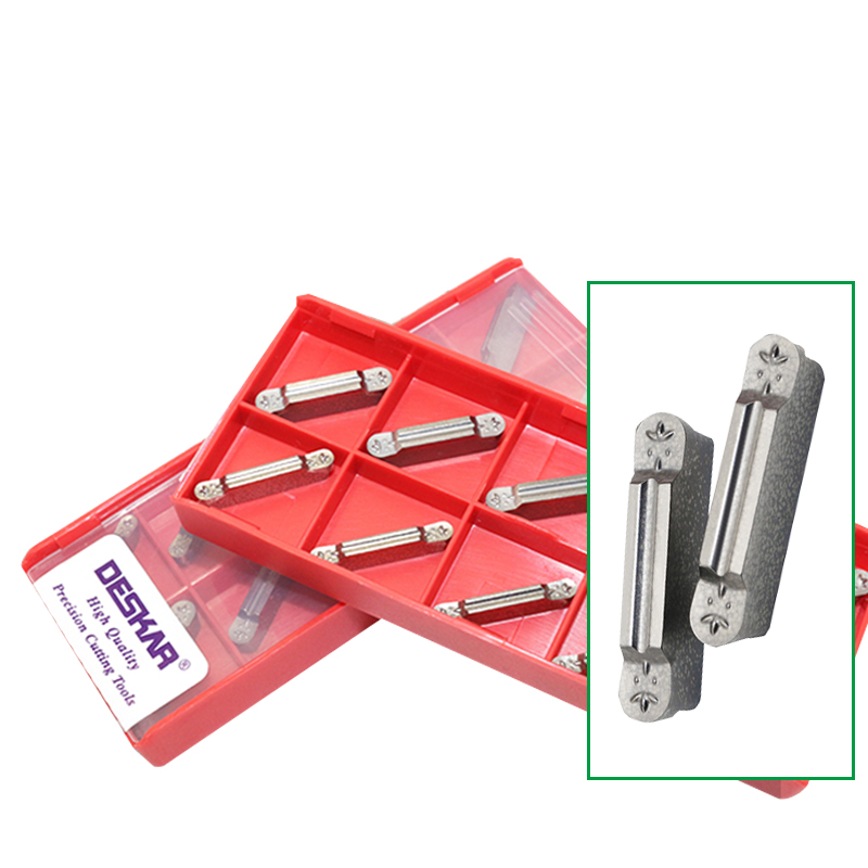 10pcs Carbide Inserts GP5020 MGMN300 Groove For Steel Cutting Turning Grooving