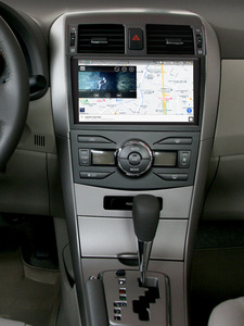 "Image 2 - 9 ""Android10 oto araba radyo Stereo GPS navigasyon multimedya oynatıcı Toyota Corolla için E140/150 2008 2009 2010 2011 2012 2013"